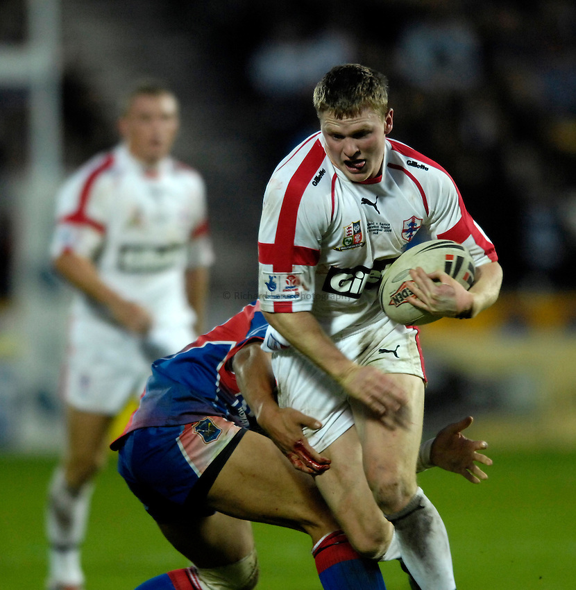 Photo: Jed Wee..England v Samoa. Federation Shield. 05/11/2006...England's Chris Ashton.