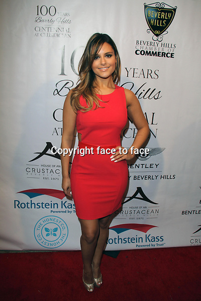 BEVERLY HILLS, CA - February 05: Pia Toscano at Experience East Meets West honoring Beverly Hills' momentous centennial year, Crustacean, Beverly Hills, February 05, 2014.<br />