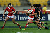9th June 2017, Westpac Stadium, Wellington, New Zealand; International Womens Rugby; New Zealand versus Canada;  Canada player Frederique Rajotte in action
