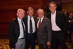 Gordon Strachan, Kenny Dalglish, Sir Gareth Edwards and Alan Hansen.<br /> The Celebrity Cup 2015<br /> Celtic Manor Resort<br /> <br /> 04.07.15<br /> &copy;Steve Pope - SPORTINGWALES