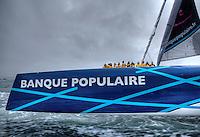 Banque Populaire V New Jules Verne Trophy record