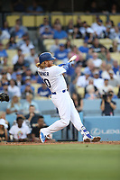 06/23/17 Los Angeles, CA: Los Angeles Dodgers third baseman Justin Turner #10 during an MLB game between the Los Angeles Dodgers and the Colorado Rockies played at Dodger Stadium.