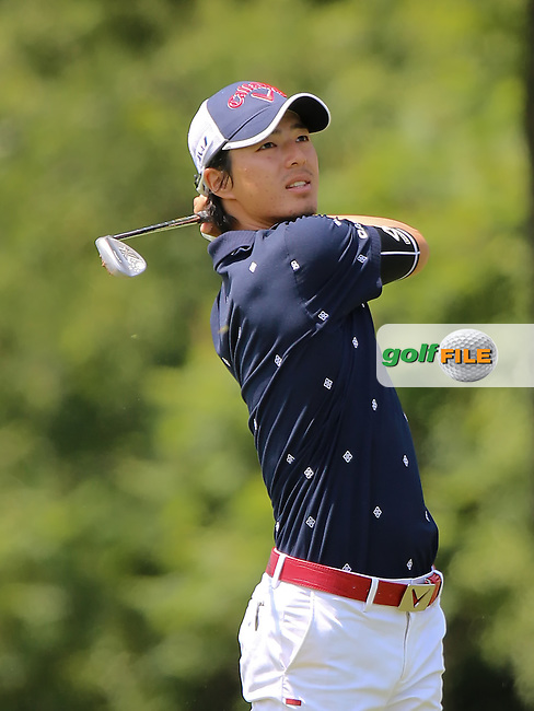 26 JUN 15 Japanes Superstar Ryo Ishikawa  during Friday's Second Round at The Travelers Championship at TPC River Highlands in Cromwell,Conn.(photo credit : kenneth e. dennis/kendennisphoto.com)