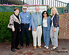 Delaware state Senators (l to r) Patricia M. Blevens w/ spouse, Harris M. McDowell w/spouse, Bethany A. Hall-Long at Delaware Park on 9/14/13