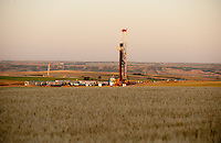 An Xtreme XDR500 drill rig working in the Bakken field near Willison, North Dakota.