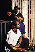 The Fugees in a Portrait Photo Session in Los Angeles Ca. USA