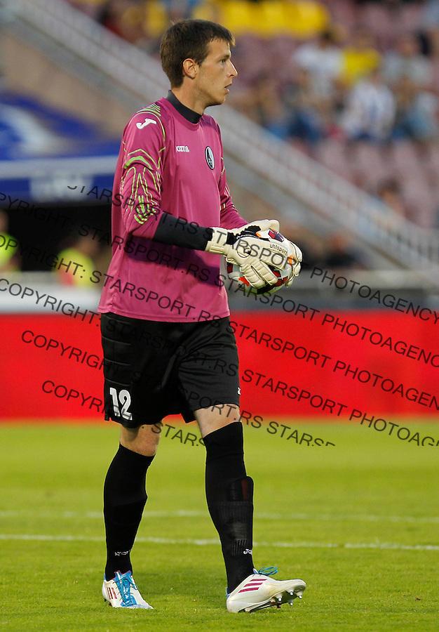 Fudbal Super liga season 2013-2014<br /> Partizan v Rad<br /> Goalkeeper Filip Kljajic <br /> Beograd, 01.09.2013.<br /> foto: Srdjan Stevanovic/Starsportphoto &copy;