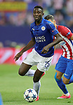 Leicester City FC's Wilfred Ndidi during Champions League 2016/2017 Quarter-finals 1st leg match. April 12,2017. (ALTERPHOTOS/Acero)
