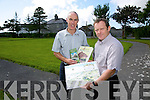 Tommy O'Connor and Donal Stack putting the call out for speakers on Historical Talks at the Ardfert Retreat Centre