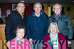 Seated L-R Angela Podger&Maria Gearey, back L-R John Podger, Kerry Keane and John Gearey all enjoying a nightout at Kingdom Greyhound Stadium, Tralee last Friday night.