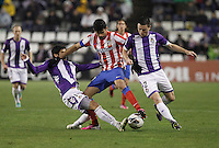 Diego Costa during Real Valladolid V Atletico de Madrid match of La Liga 2012/13. 17/02/2012. Victor Blanco/Alterphotos /NortePhoto
