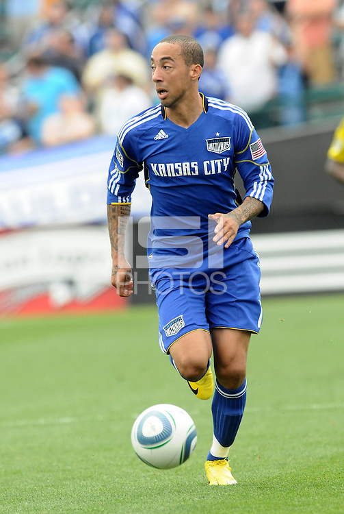 Ryan Smith...Kansas City Wizards were defeated 1-0 by Columbus Crew at Community America Ballpark, Kansas City, Kansas.
