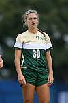 30 August 2015: William & Mary's Leci Irvin. The Duke University Blue Devils hosted the William & Mary University Tribe at Koskinen Stadium in Durham, NC in a 2015 NCAA Division I Women's Soccer game. Duke won the game 2-0.