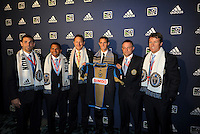 Chandler Hoffman 13th pick of first round by Philadelphia Union,with coaching and management team... The 2012 MLS Superdraft was held on January 12, 2012 at The Kansas City Convention Center, Kansas City, MO.