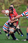 Gary Saifoloi. Air New Zealand Air NZ Cup warm-up rugby game between the Counties Manukau Steelers & Tasman Mako's, played at Growers Stadium Pukekohe on Sunday July 20th 2008..Counties Manukau won the match 30 - 7.