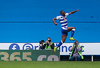 Reading's Yakou Meite celebrates scoring his side's first goal <br /> <br /> Photographer Andrew Kearns/CameraSport<br /> <br /> The EFL Sky Bet Championship - Reading v Preston North End - Saturday 30th March 2019 - Madejski Stadium - Reading<br /> <br /> World Copyright © 2019 CameraSport. All rights reserved. 43 Linden Ave. Countesthorpe. Leicester. England. LE8 5PG - Tel: +44 (0) 116 277 4147 - admin@camerasport.com - www.camerasport.com