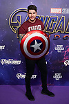 Diego Matamoros attends to Avengers Endgame premiere at Capitol cinema in Madrid, Spain. April 23, 2019. (ALTERPHOTOS/A. Perez Meca)