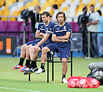 230612 Italy Training Kiev Euro 2012