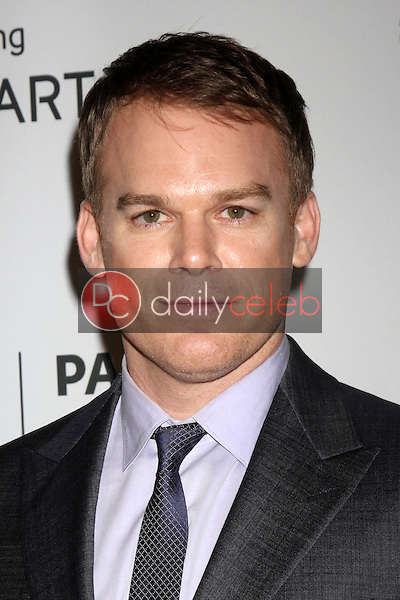 """Michael C. Hall<br /> at the PaleyFest Fall Previews:  Fall Farwell - """"Dexter,"""" Paley Center for Media, Beverly Hills, CA 09-12-13<br /> David Edwards/DailyCeleb.Com 818-249-4998"""