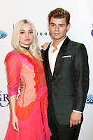 LOS ANGELES - JUN 6:  Doe Cameron, Garrett Clayton at the 42nd Annual Gracie Awards at the Beverly Wilshire Hotel on June 6, 2017 in Beverly Hills, CA