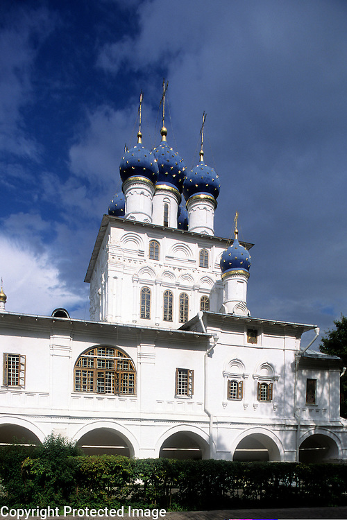 Russia,Moscow,Kolomenskoye,Church of Our Lady of Kazan (1649-1650)