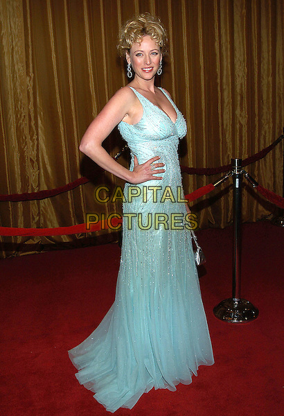 VIRGINIA MADSEN.57th Annual DGA Awards held at the Beverly Hilton Hotel, Beverly Hills, California, USA, 29 January 2005..full lnegth blue dress.Ref: ADM.www.capitalpictures.com.sales@capitalpictures.com.©Jacqui Wong/AdMedia/Capital Pictures .