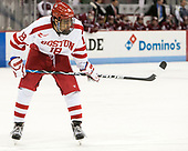 Jordan Greenway (BU - 18) - The Boston University Terriers defeated the University of Massachusetts Minutemen 3-1 on Friday, February 3, 2017, at Agganis Arena in Boston, Massachusetts.The Boston University Terriers defeated the visiting University of Massachusetts Amherst Minutemen 3-1 on Friday, February 3, 2017, at Agganis Arena in Boston, MA.