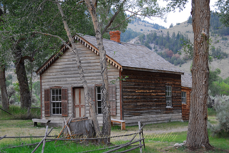 Bannack Ghost Town and Montana State Park