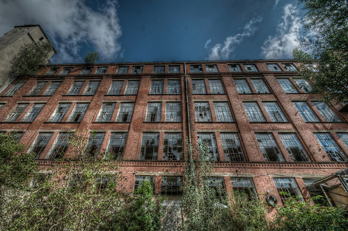 In the formar DDR East Germany<br /> Old Factory.
