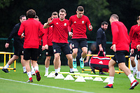 Declan John Of Wales during the Wales Training Session and Press Conference at The Vale Resort in Cardiff, Wales. September 3, 2018