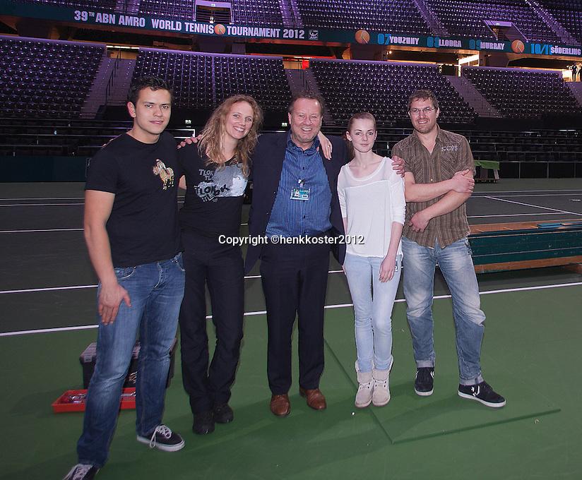 19-02-12, Netherlands,Tennis, Rotterdam, ABNAMRO WTT, Photo team Henk Koster