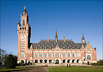 Nederland, Den Haag, 15-03-2006. Exterieur van Vredespaleis, 60 jarig bestaan van het gerechtshof..© foto Michael Kooren/Hollandse Hoogte.