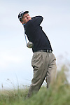 Day one of the Irish PGA championship at Seapoint Golf Club, Des Smyth on the 10th tee...Picture Jenny Matthews/Newsfile.ie