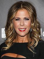 HOLLYWOOD, LOS ANGELES, CA, USA - OCTOBER 29: Rita Wilson arrives at the 2014 amfAR LA Inspiration Gala at Milk Studios on October 29, 2014 in Hollywood, Los Angeles, California, United States. (Photo by Celebrity Monitor)
