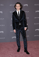 04 November  2017 - Los Angeles, California - Timothee Chalamet. 2017 LACMA Art+Film Gala held at LACMA in Los Angeles. <br /> CAP/ADM/BT<br /> &copy;BT/ADM/Capital Pictures