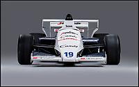 Historic Senna Monaco race car.