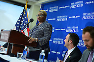 Washington, DC - June 21, 2016: The Rev. Leah D. Daughtry, CEO of the 2016 Democratic National Convention in Philadelphia, speaks to members of the media about the upcoming convention during a news conference at the National Press Club in the District of Columbia, June 21, 2016.  (Photo by Don Baxter/Media Images International)
