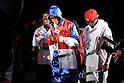 Celestino Caballero (PAN), DECEMBER 31, 2011 - Boxing : Celestino Caballero of Panama enters the ring before the WBA featherweight title bout at Yokohama Cultural Gymnasium in Kanagawa, Japan. (Photo by Hiroaki Yamaguchi/AFLO)