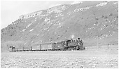 RGS #20 with five-car freight between Dolores and Stoner.<br /> RGS  Stoner, CO  Taken by Richardson, Robert W. - 5/23/1951