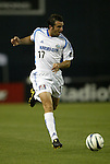 15 May 2004: Chris Klein makes a pass during the second half. DC United defeated the Kansas City Wizards 1-0 at RFK Stadium in Washington, DC during a regular season Major League Soccer game..