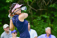 Sandra Gal (DEU) watches her tee shot on 11 during Thursday's round 1 of the 2017 KPMG Women's PGA Championship, at Olympia Fields Country Club, Olympia Fields, Illinois. 6/29/2017.<br /> Picture: Golffile | Ken Murray<br /> <br /> <br /> All photo usage must carry mandatory copyright credit (&copy; Golffile | Ken Murray)
