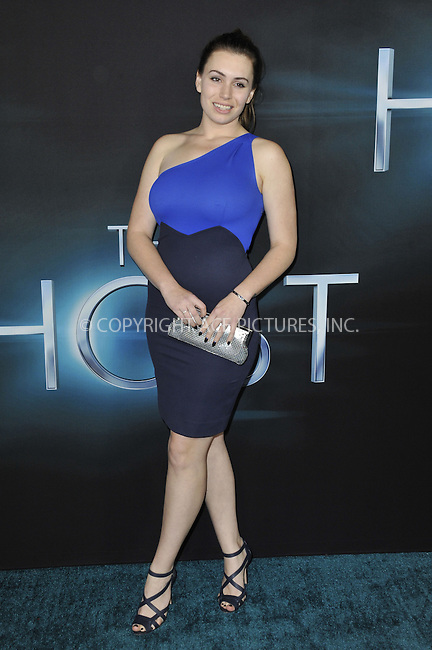WWW.ACEPIXS.COM....March 19 2013, LA....Sophie Simmons arriving at the 'The Host' Los Angeles premiere at the ArcLight Cinemas Cinerama Dome on March 19, 2013 in Hollywood, California. ....By Line: Peter West/ACE Pictures......ACE Pictures, Inc...tel: 646 769 0430..Email: info@acepixs.com..www.acepixs.com