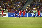 Malaysia vs Singapore during the AFF Suzuki Cup 2012 Group B match on November 25, 2012 at the Bukit Jalil National Stadium in Kuala Lumpur, Malaysia. Photo by World Sport Group