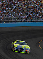 Apr 22, 2006; Phoenix, AZ, USA; Nascar Nextel Cup driver Greg Biffle of the (16) Subway/National Guard Ford Fusion during the Subway Fresh 500 at Phoenix International Raceway. Mandatory Credit: Mark J. Rebilas-US PRESSWIRE Copyright © 2006 Mark J. Rebilas..