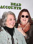 Jayne Houdyshell, Playwright Theresa Rebeck attending the Meet & Greet the cast of the new Broadway Play 'Dead Accounts' on October 12, 2012 in New York City.