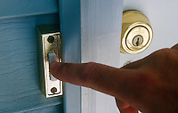 HOUSEHOLD ELECTRICITY<br /> Finger Pressing Doorbell