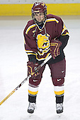 Mark Bomersback - The Boston College Eagles and Ferris State Bulldogs tied at 3 in the opening game of the Denver Cup on Friday, December 30, 2005, at Magness Arena in Denver, Colorado.  Boston College won the shootout to determine which team would advance to the Final.