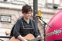 People's Post Rally; Birmingham; 4th June 2016. Grace Petrie
