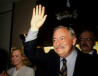 July 1994 File Photo -<br /> <br /> Parti Quebecois  Leader Jacques Parizeau <br /> <br /> Photo by Pierre Roussel / Images Distribution