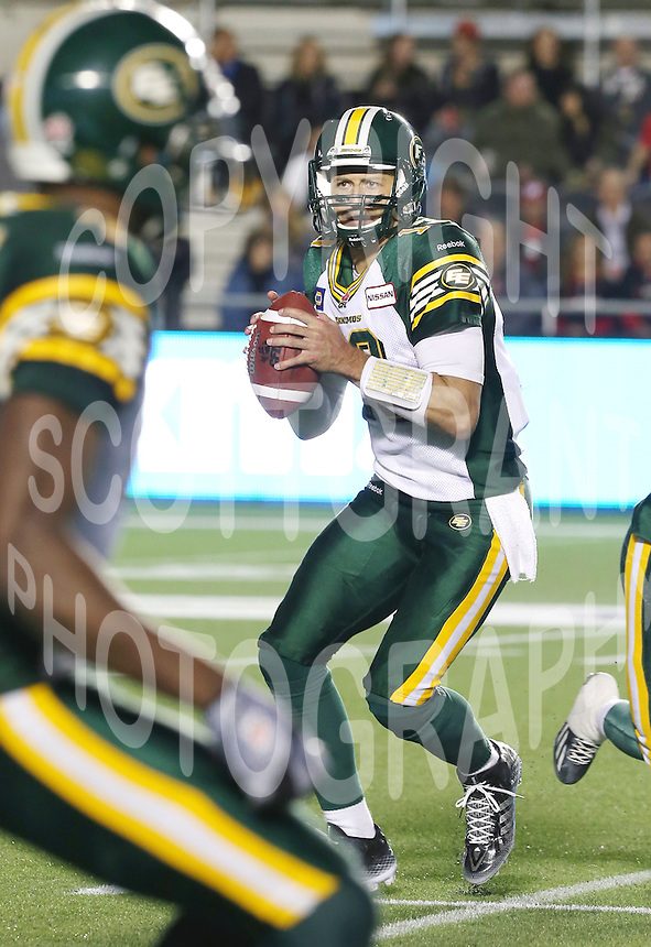 Mike Reilly Edmonton Eskimos 2014. Photo Scott Grant